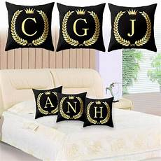 new pillow cover 26 letters style pillow alphabet