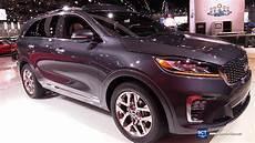 2019 kia usa 2019 kia sorento sxl exterior and interior walkaround