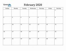 february 2020 calendar events february 2020 calendar pdf word excel