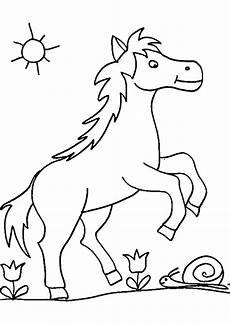 ausmalbilder pferde im schnee pferde bilder zum ausmalen