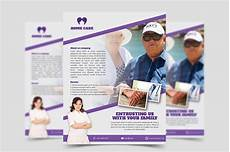 Home Care Flyer Home Care Flyer Template Flyer Templates Creative Market