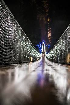 Capilano Suspension Bridge Canyon Lights Tickets Holidays In Vancouver Canyon Lights At Capilano