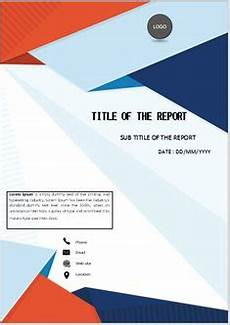 Cover Page For Assignment Free Download 40 Best Cover Page Template Design Microsoft Office Word