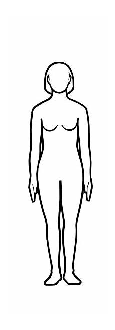 Outline Of A Female Body Template Free Female Body Cliparts Download Free Clip Art Free