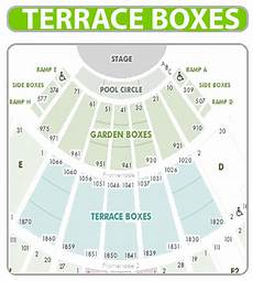 Hollywood Bowl Terrace Seating Chart Hollywood Bowl Terrace Boxes All Shows Get 5 Back Of Order