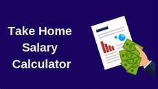 Bring Home Pay Calculator Take Home Salary Calculator India 2019 20 Excel With