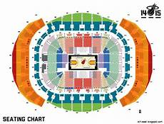 American Airlines Miami Arena Seating Chart Miami Heat Stadium This Wallpapers