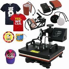 clothes printer press machine 5 in 1 digital heat press machine sublimation for t shirt