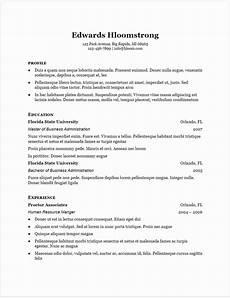 Free Google Resume Templates 30 Google Docs Resume Templates Downloadable Pdfs