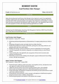 Sales Accomplishments Territory Sales Manager Resume Samples Qwikresume