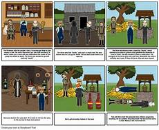 How To Do A Storyboard The Pardoner S Tale Storyboard By Lewija2005