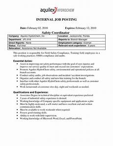 Cover Letter For Online Job Posting The Extraordinary Best Photos Of Internal Job Posting