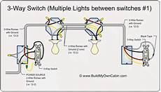 3 Way Switch Light And Outlet Wiring 3 Way Switch With Multiple Outlets Home