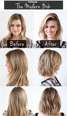 modern bob haircuts before after popular haircuts