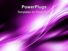 Purple Powerpoint Background Powerpoint Template Bright White Curved Patterns On