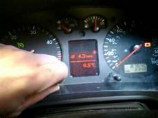Golf Airbag Light Reset How To Reset Service Indicator Light On A Volkswagen Golf