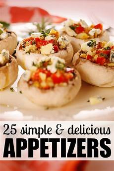 25 simple delicious appetizers