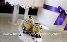 minion wedding cake toppers minion wedding cake topper