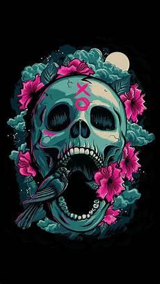 black and white wallpaper iphone skull sugar skull wallpaper for iphone 62 images