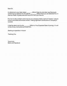 Letters Of Acceptance Job Offer 40 Professional Job Offer Acceptance Letter Amp Email
