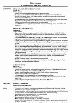 Sample Buyer Resume Category Buyer Resume Samples Velvet Jobs