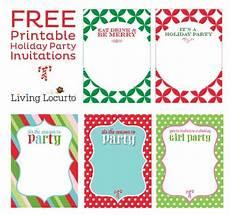 Invitation Creator Free Printable Free Printable Diy Holiday Party Invitations