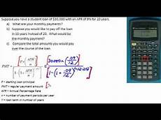 Payment Formula Loan Payment Formula Youtube