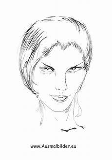Gesichter Ausmalbilder Ausdrucken Ausmalbilder Portrait Gesichter Und Frisuren Malvorlagen