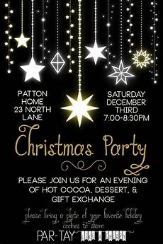Free Evites For Holiday Party Free Christmas Party Invitation Party Like A Cherry