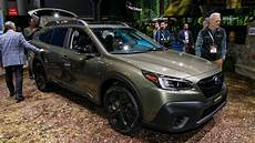 2020 Subaru Outback Exterior Colors by 2020 Subaru Outback At The New York Auto Show Motor1