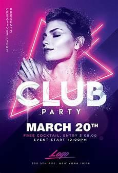 Flyer Partys Best Club Party Flyer Psd Templates Creative Flyers