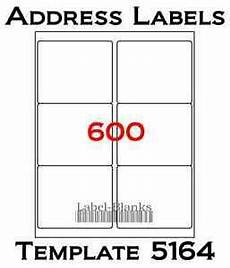 Avery 5164 Template Pdf 4 X3 1 3 Laser Ink Jet Labels 600 Labels Compatible W