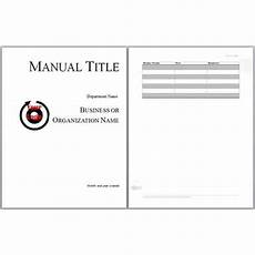 Training Manual Templates For Word Training Manual Templates Word Templates Docs