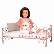 sweet dreams scrollwork bed for 18 inch dolls our