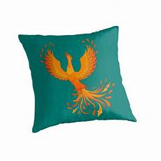 on green background throw pillow by alla