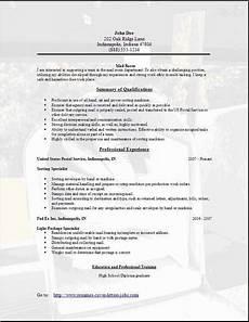 Mailroom Clerk Resume Sample Mail Room Resume Occupational Examples Samples Free Edit