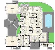 Floor Plan Of A Villa Luxury Villas Floor Plans Modern House