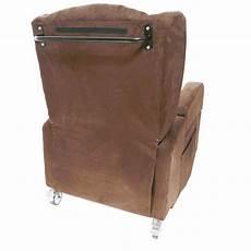 poltrona con ruote poltrona con ruote e braccioli removibili 72 cm vera 2