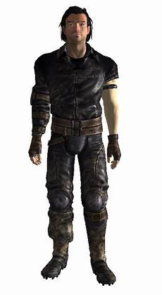 Fallout New Vegas Light Armour Lightweight Leather Armor The Vault Fallout Wiki