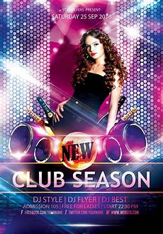 Free Party Flyer Template New Party Season Free Psd Flyer Templates Graphicsfuel