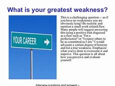 What Is Your Biggest Weakness Interview Question The Walt Disney Company Interview Questions And Answers