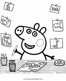 Ausmalbilder Peppa Wutz Gratis Peppa Wutz 35 Gratis Malvorlage In Comic