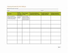 Stakeholder Analysis Template 50 Free Stakeholder Analysis Templates Excel Amp Word ᐅ