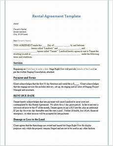 Rental Agreement Template Word Document Rental Agreement Templates Word Templates For Free Download