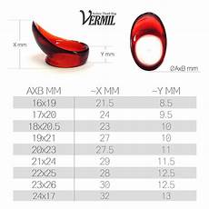 Thumb Pick Size Chart Vermil Classic Thumb Ring