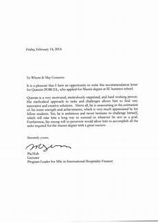 Recommendation Letter Signature Quentin Porcel Recommendation Letter With Signature Pia Huh
