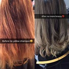Blue No Yellow Before Amp After No Yellow Shampoo I Cant Get Over This I