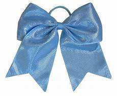Big Light Blue Hair Bow New Quot Sparkle Dots Light Blue Quot Cheer Bow Pony Ribbon