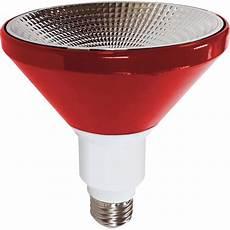 Red Outdoor Flood Light Bulbs Illumin8 I8par38 Deco Re Par38 Red Led Light Bulb Non