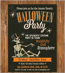 Free Printable Halloween Party Invitations For Adults 35 Halloween Invitation Free Psd Vector Eps Ai